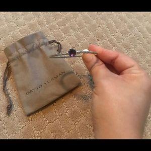 David Yurman Chantelaine Amethyst bracelet